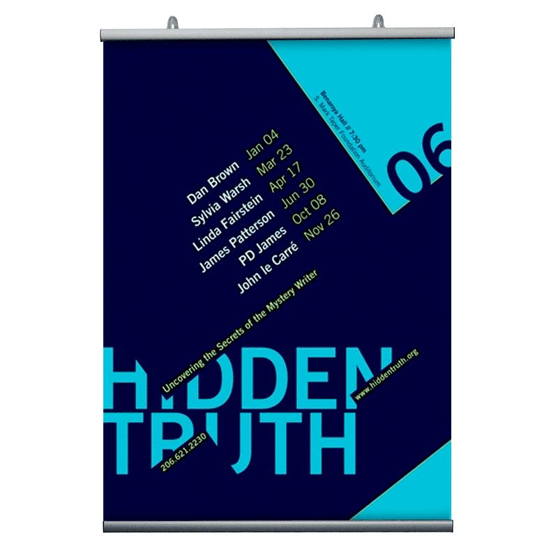 Affischlister, Poster-Hanger 210mm.-30