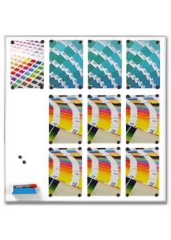 Whiteboardtavla Magnetic 12 x A4-20