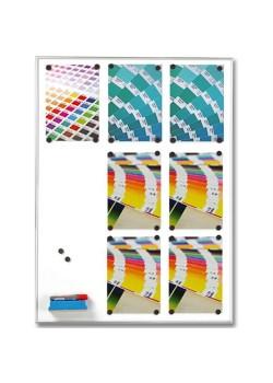 Whiteboardtavla Magnetic 9 x A4-20