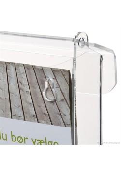 Clear Utomhus broschyrhållare-20