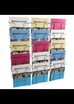 Index broschyrställ 15 st A4 fack-20