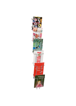 Broschyrställ för vägg Index 6 x A6-20