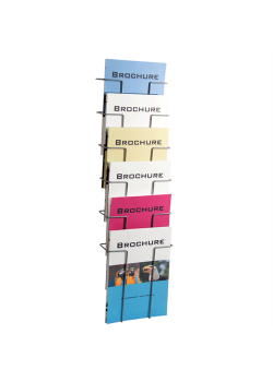 Index broschyrställ 6 st A4 fack-20