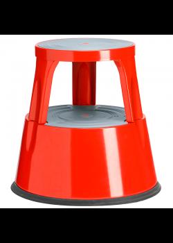 Kick-step rullpall Röd metall-20