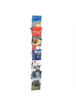 Index vägg broschyrställ 6 x 1/3 A4-20