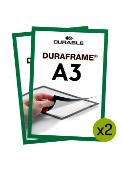 Magnetram Duraframe - A3 Grön