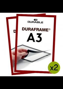 Magnetram - Duraframe® - A3 Röd