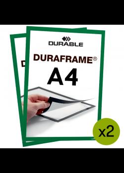 Magnetram Duraframe® - A4 Grön