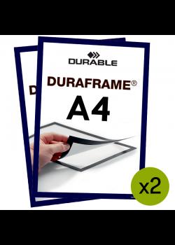 Magnetram Duraframe® - A4 Blå