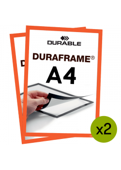 Magnetram Duraframe - A4 Orange