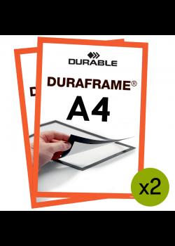 Magnetram Duraframe - A4 Orange