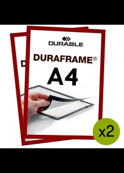 Magnetram - Duraframe® - A4 Röd
