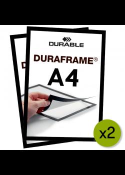 Magnetram - Duraframe® - A4 Svart