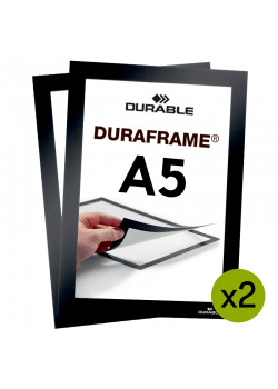 Magnetram - Duraframe® - A5 Svart
