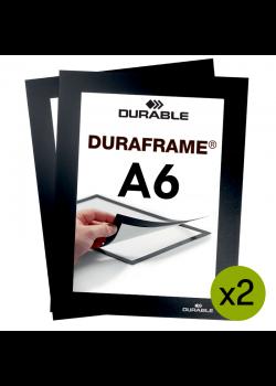 Magnetram Duraframe® - A6 Svart