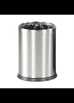 Lux papperskorg Silver-20