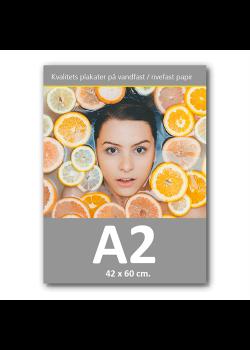 Affisch med tryck 42x60cm. A2-20