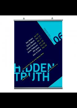 Affischlister, Poster-Hanger 297mm.-20