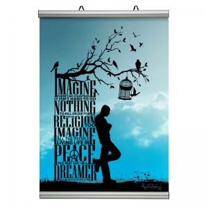 Affischram, Poster-Line 210mm. A4-20