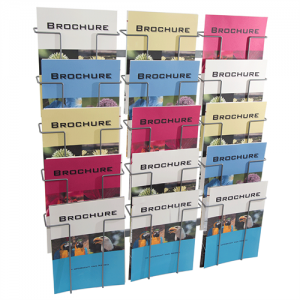 Index broschyrställ 15 st A4 fack