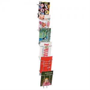 Broschyrställ för vägg- Index 6 x A6