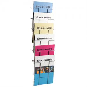 Index broschyrställ 6 st A4 fack