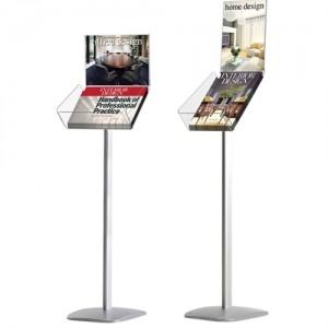 Expo info broschyrställ med A4 affischram