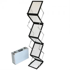 Flex Broschyrställ 6 x A4 - Svart